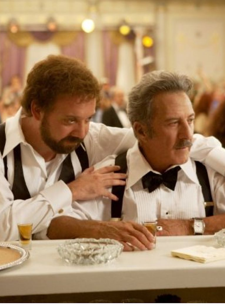 Paul Giamatti and Dustin Hoffman as father and son in ?Barney?s Version.?