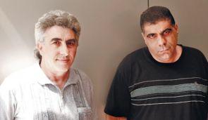 Filmmakers Yamin Messika, left, and Yarmi Kadoshi.