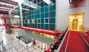 The new Cinematheque building on Ha?arba Street.