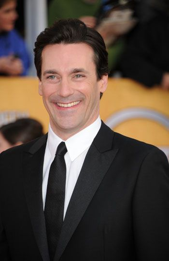 Actor Jon Hamm plays the serial cheater Don Draper on Mad Men.