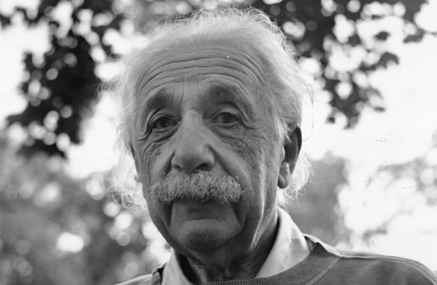 Atomic Man: Ginsberg argues that scientists like Albert Einstein should be considered part of a Jewish war effort.