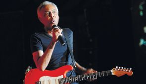 Gilberto Gil performing in Ra?anana on Sunday.