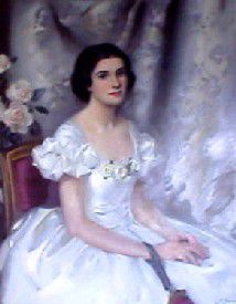 This painting hangs in her room at the hotel. It is assumed to be Julia, but it could be one of her descendants, as it wasn?t painted until 1939.