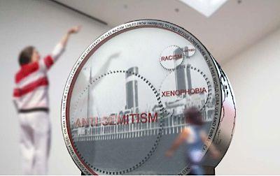 Daniel Libeskind?s ?Wheel of Conscience? in Halifax, Nova Scotia.