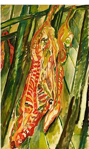 Chaim Soutine, ?The Beef,? 1920