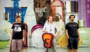 Useless ID band members (from left to right) Ishay Berger, Yonatan Harpak and Haim Binyamini.