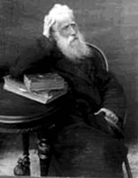 Shevel Kinkulkin in his later years, at the beginning of the 20th century.
