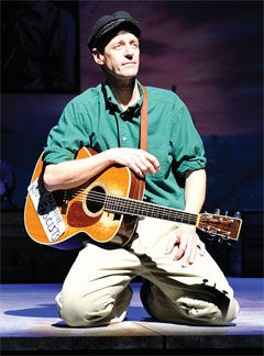 David Lutken as Woody Guthrie in ?Woody Sez.?