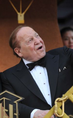 Sheldon Adelson in April 2012