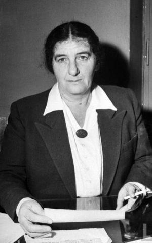 Golda Meir in 1948