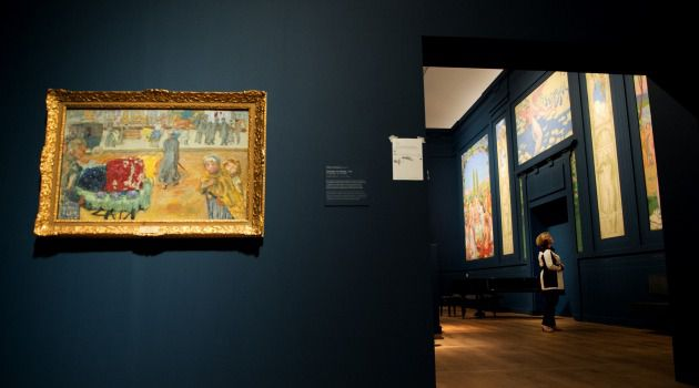 Past Impressions: Pierre Bonnard is one of the ?Nabis,? whose work is on display at the Hermitage Amsterdam museum.