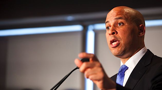 New Post?: Cory Booker announced that he will seek Frank Lautenberg?s senate seat.