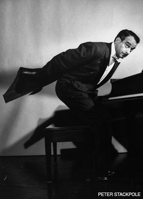 STANDING ROOM ONLY: Victor Borge had audiences rolling in the aisles and living rooms in Europe and North America.