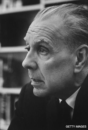 THE BLIND LIBRARIAN: Few had the cultural insight of Borges, here pictured in 1968.