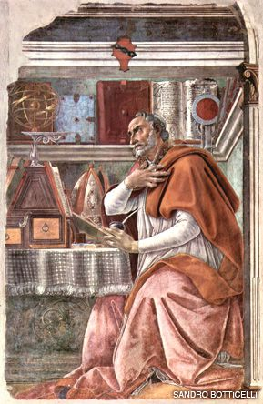 WORRYING ABOUT WITNESS: St. Augustine was probably not worrying about the Jews here, but his words may have helped Jews significantly over the course of history.