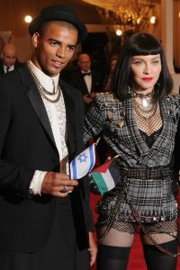 Brahim Zaibat and Madonna