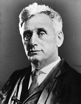 Legal Eagle:  Brandeis blazed a trail.