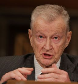 Mainstream: Zbigniew Brzezinski is among those who have appeared on Press TV.