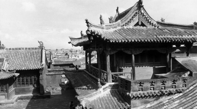 Now and Zen:  This Buddhist temple, photographer in 1973 in Tatung, China, evokes a way of life that some see as surprisingly compatible with Judaism.