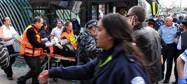New Terror: The small bomb explosion near the Central Bus Station in Jerusalem on March 23 was the first major terrorist bombing in the city since 2004. The bomb exploded at a crowded bus stop outside the International Convention Center. A 59-year-old woman was killed and at least 30 other people were injured. The attack came amid rising tension along Israel?s border with Gaza, as rockets fell on Israel?s southern cities and the Israeli military responded with mortars and air strikes.