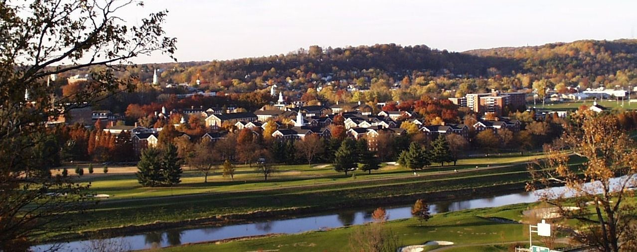 The campus of Ohio University.