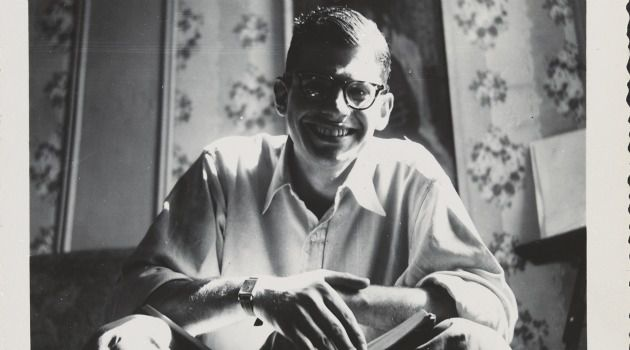 Portrait Of The Artist By The Artist: Allen Ginsberg in 1953