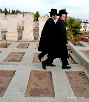 Departure: Jerusalem's mayor recently announced that the city will build a secular cemetery. Until now, burials in the city have been conducted exclusively by burial societies aligned with the Orthodox.