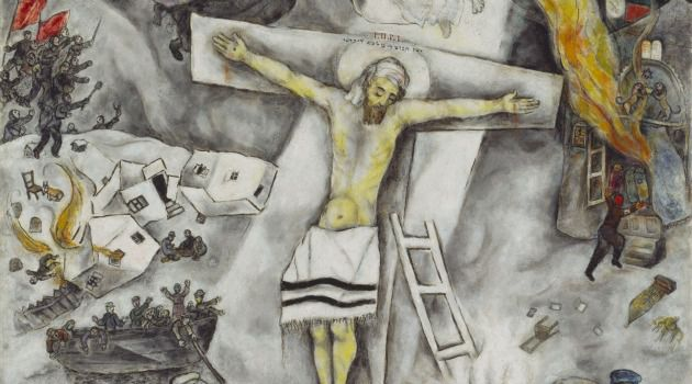 Papal Favorite: Marc Chagall?s ?White Crucifixion? depicts Jesus, wearing a tallit instead of a loincloth.