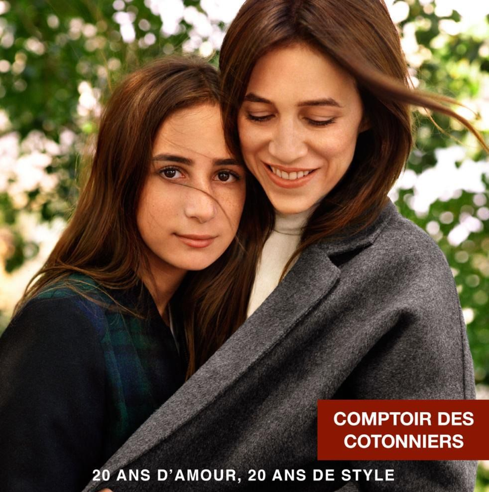 Photo of Charlotte Gainsbourg  & her Daughter  Alice Attal