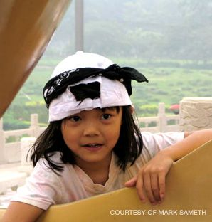 Homecoming?: Yakira Sameth of Pleasantville, N.Y., visited her native China last year.