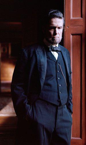 Theological Abe: President Lincoln (Chris Sarandon) ponders divine providence.