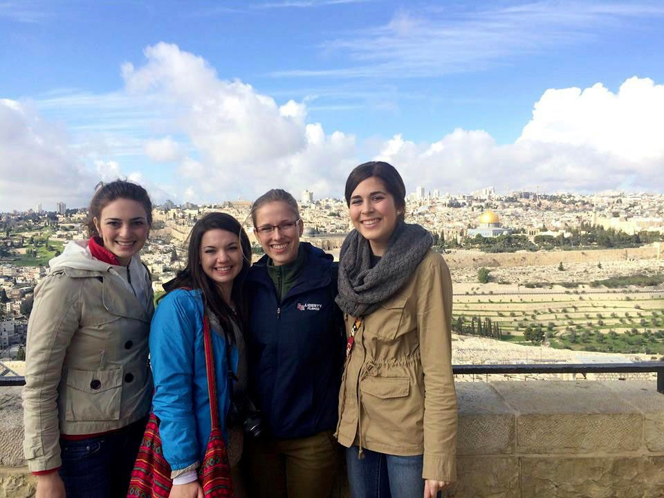 Participants in the first Covenant Journey trip to Israel visit the City of David archeological site in Jerusalem.