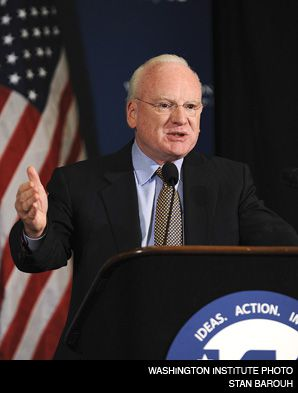 CLARKE: The Clinton administration?s anti-terrorism expert, Richard Clarke, speaking at a weekend conference on the Middle East.