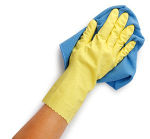 Those Rubber Gloves: The upside of cleaning for Passover.