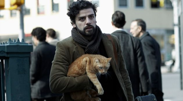 Two Hep Cats: Oscar Isaac plays the title character in the Coen Brothers? folk music pastiche, ?Inside Llewyn Davis.?