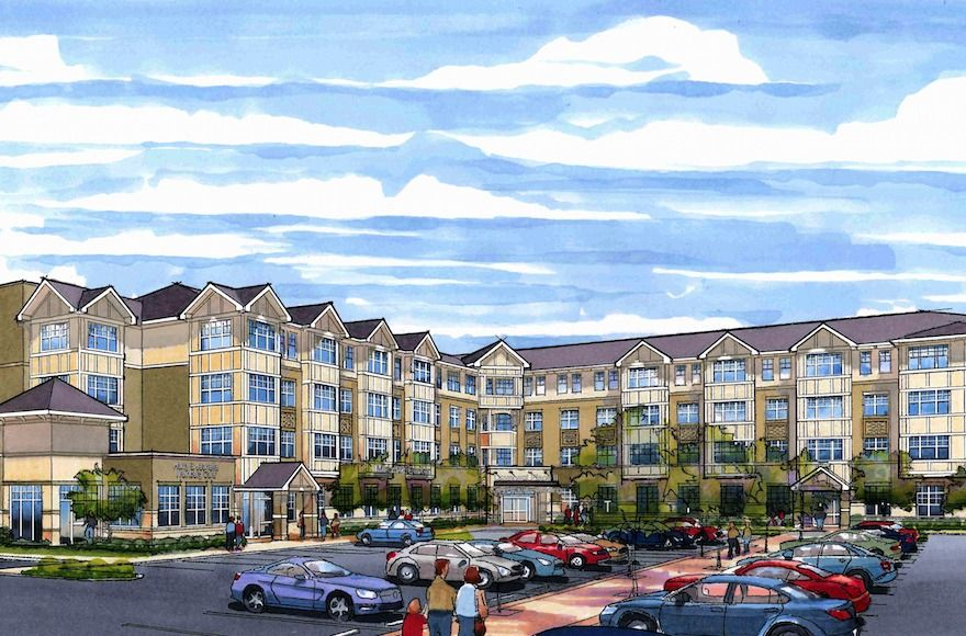 Covenant Place, a Jewish retirement community in St. Louis, is constructing a building that combines affordable apartments for seniors with a range of social and communal services open to the surrounding community.