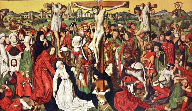 renaissance depictions of the crucifixion essay Home → sparknotes → biography study guides → pablo picasso → study & essay  european sculpture since the renaissance  , starting with his crucifixion.