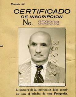 Once freed from the Cuban detention camp, Leslie?s grandfather, Samuel Sigmar Gunzburger, was required to purchase a Cuban Defense Ministry foreign registration booklet.