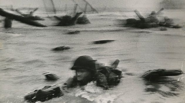 On The Beach: The Normandy Landing on D-Day was captured by Magnum co-founder Robert Capa.