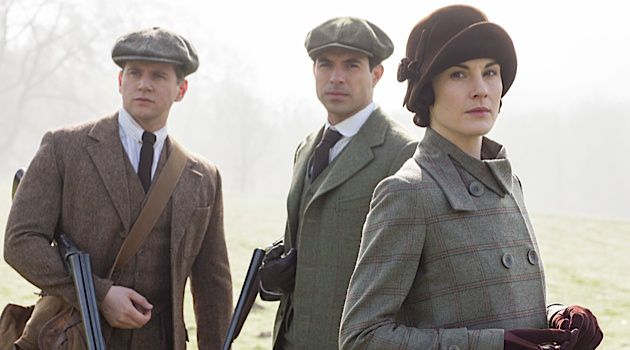 The Shooting Party: 'Downton Abbey' is currently in its fifth and final season.