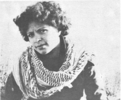 Palestinian terrorist Dalal Mughrabi.