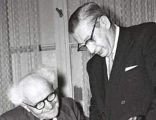 The Patriot: Billy Rose with David Ben Gurion.