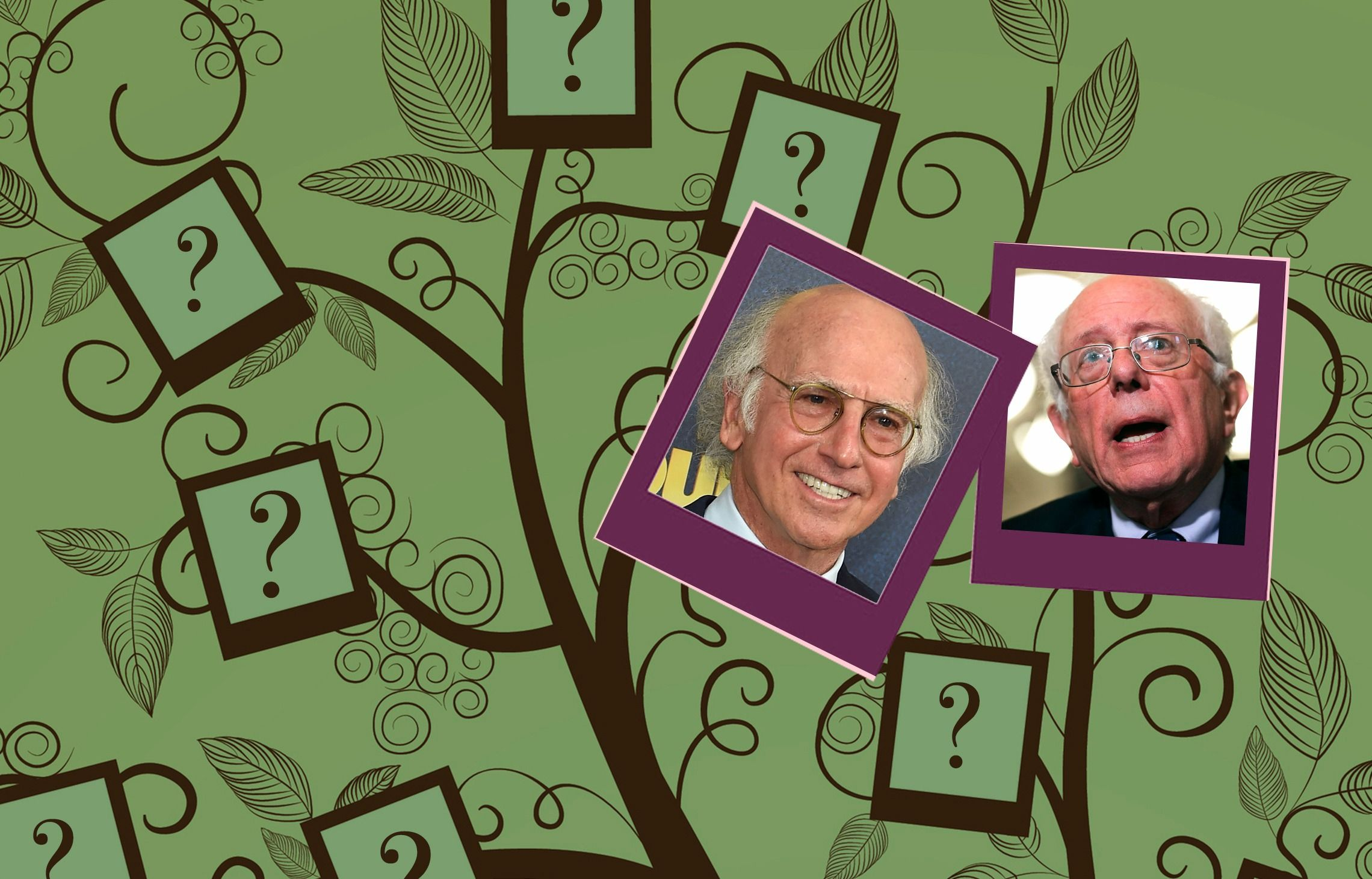Ancestry Non-Shocker: Larry David and Bernie Sanders are Distant Cousins