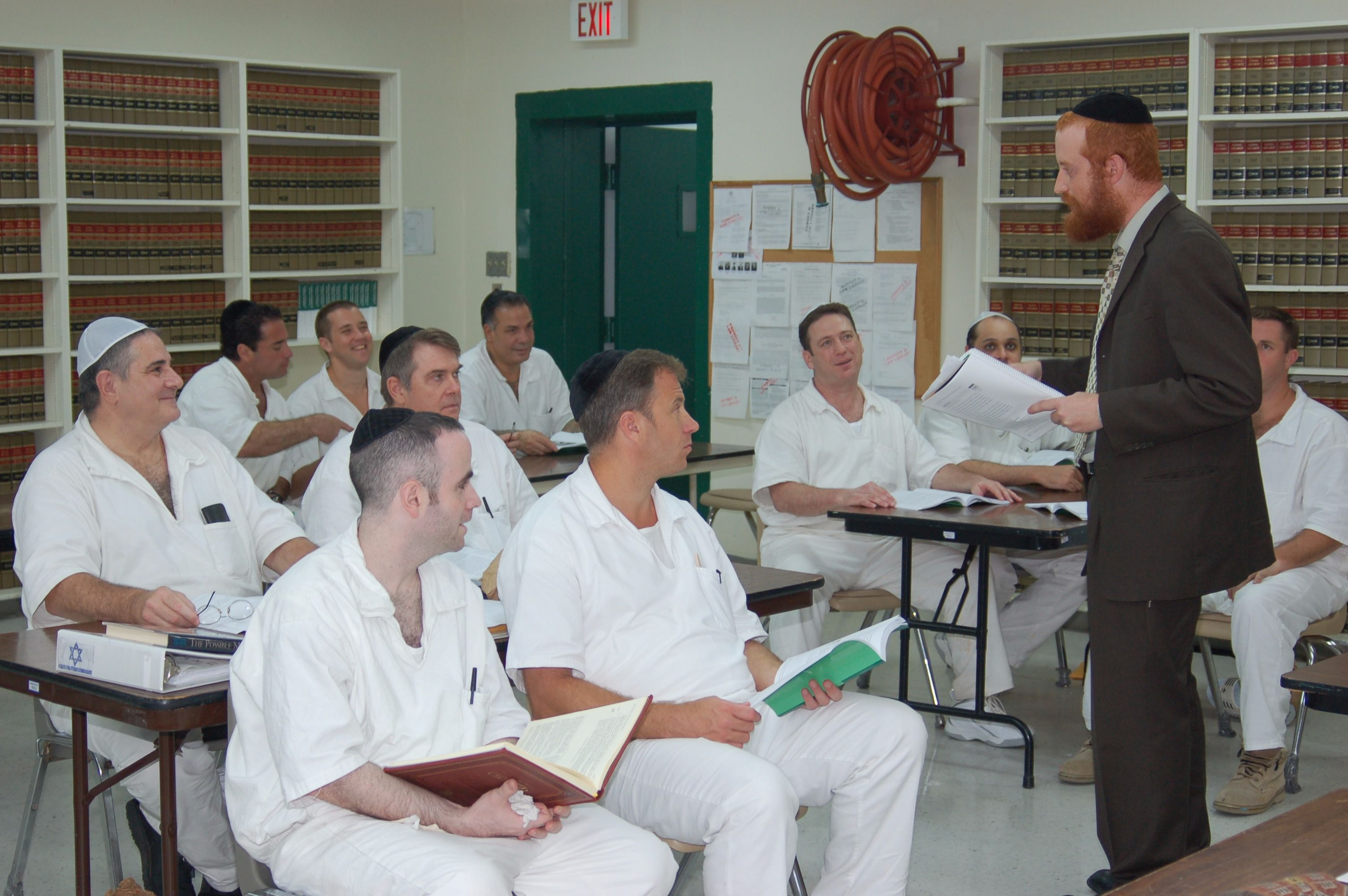 A Bar Mitzvah on Death Row