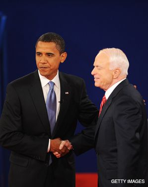 DEBATE: The presidential and vice-presidential debates were the cause for gatherings of both Jewish Democrats and Republicans.