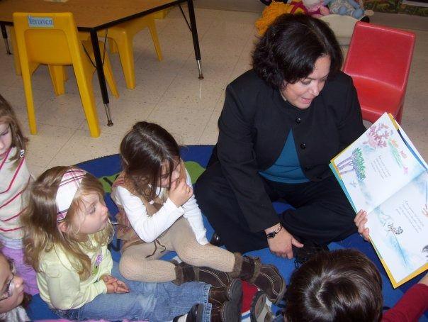 """Storyteller: Deborah Bodin Cohen reads from her book """"The Seventh Day."""""""