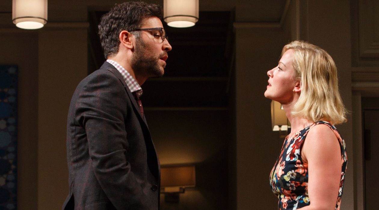 A Dinner Party Divided: Josh Radnor and Gretchen Mol star in Ayad Akhtar's Pulitzer Prize-winning drama, 'Disgraced.'