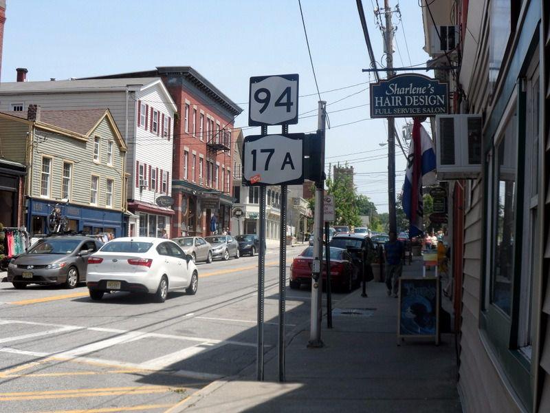 A street in Warwick, New York