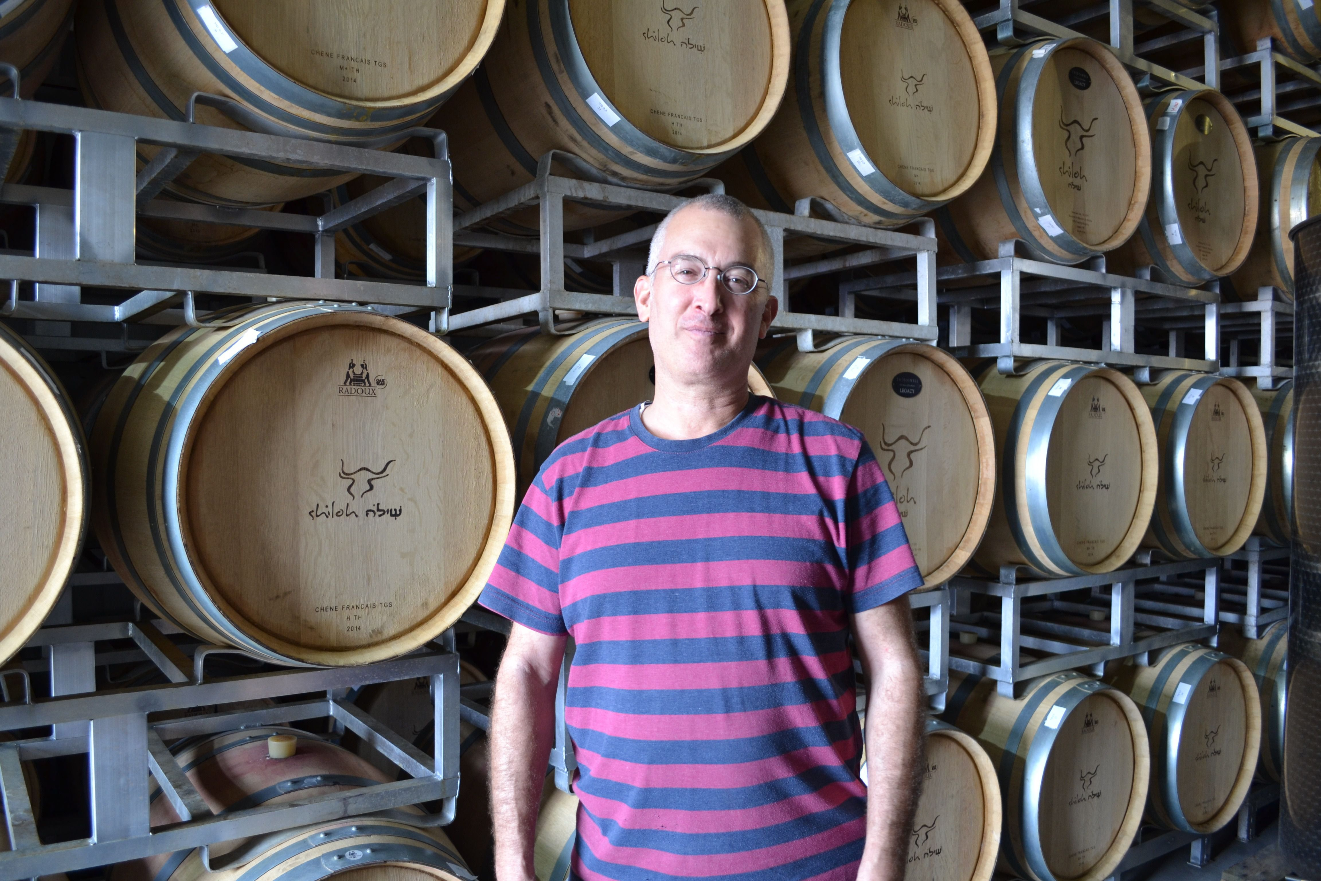 Heard It Through the Grapevine: Amichai Lourie wants the world to know the grapes for his wine come from Shiloh, explaining, 'We are here because we believe we are supposed to be here.'