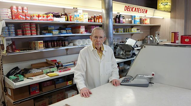 Last of the Mohicans: 82-year-old Joslin Davis presides over Davis Dairy Products, Rhode Island's only kosher grocery store.